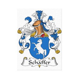 Escudo de la familia de Schaffer Impresiones En Lona