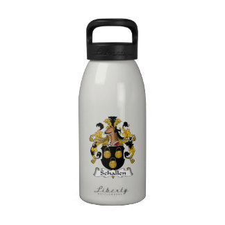 Escudo de la familia de Schallen Botellas De Agua Reutilizables