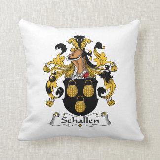 Escudo de la familia de Schallen Almohadas