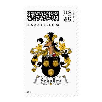 Escudo de la familia de Schallen Franqueo