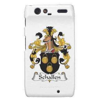 Escudo de la familia de Schallen Motorola Droid RAZR Funda