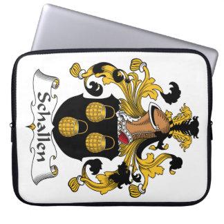 Escudo de la familia de Schallen Mangas Computadora