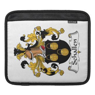 Escudo de la familia de Schallen Fundas Para iPads