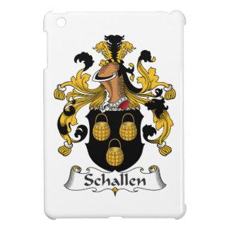 Escudo de la familia de Schallen iPad Mini Cárcasa