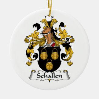 Escudo de la familia de Schallen Ornato