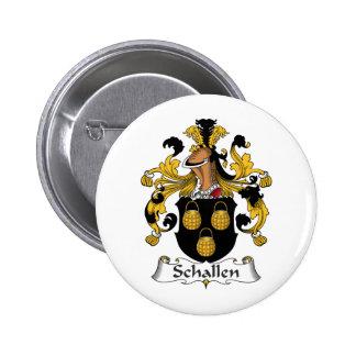 Escudo de la familia de Schallen Pins