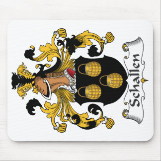 Escudo de la familia de Schallen Tapetes De Ratones