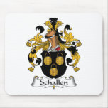 Escudo de la familia de Schallen Tapetes De Ratón