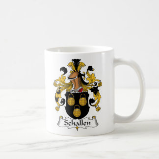 Escudo de la familia de Schallen Taza