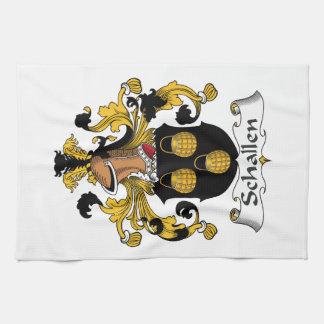 Escudo de la familia de Schallen Toallas