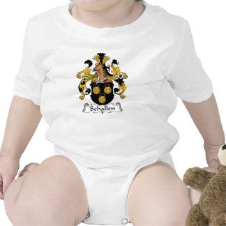 Escudo de la familia de Schallen Traje De Bebé