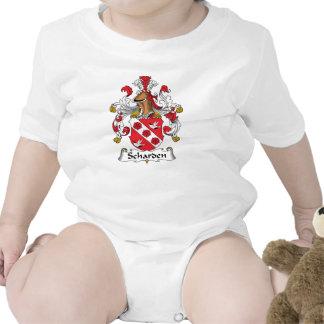Escudo de la familia de Scharden Traje De Bebé