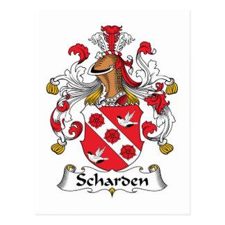 Escudo de la familia de Scharden Postal