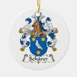 Escudo de la familia de Scharer Adorno