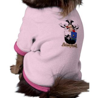 Escudo de la familia de Schattauer Camiseta De Perrito
