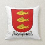 Escudo de la familia de Schauenstein Almohada