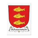 Escudo de la familia de Schauenstein Lienzo Envuelto Para Galerias