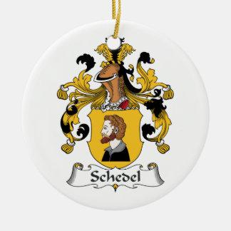 Escudo de la familia de Schedel Adorno Para Reyes