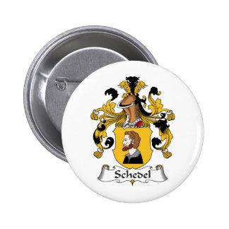 Escudo de la familia de Schedel Pins
