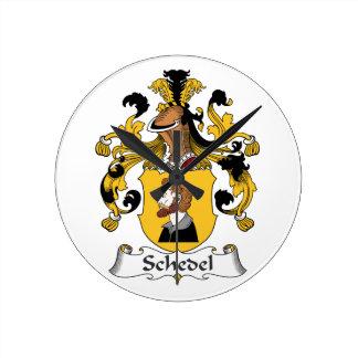 Escudo de la familia de Schedel Reloj