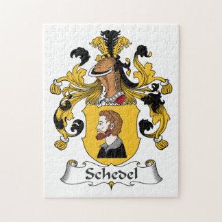 Escudo de la familia de Schedel Rompecabezas