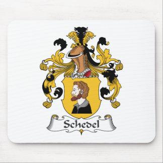 Escudo de la familia de Schedel Tapete De Ratones