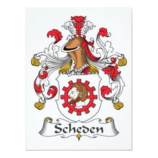Escudo de la familia de Scheden Comunicado Personal
