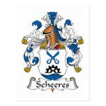 Escudo de la familia de Scheeres Postal