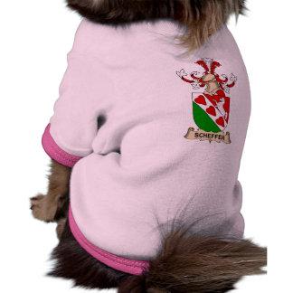 Escudo de la familia de Scheffer Camiseta De Perro