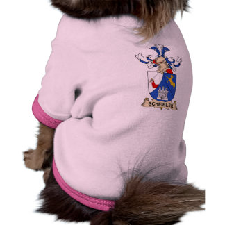 Escudo de la familia de Scheibler Prenda Mascota