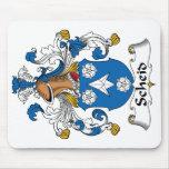 Escudo de la familia de Scheid Alfombrillas De Ratón