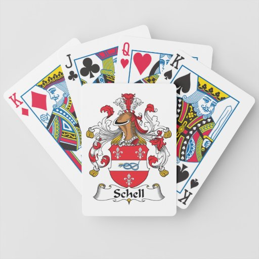 Escudo de la familia de Schell Barajas De Cartas
