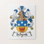 Escudo de la familia de Schenk Puzzles