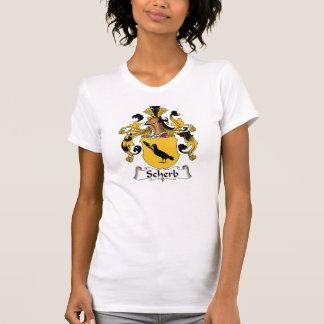 Escudo de la familia de Scherb Camisetas