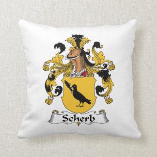 Escudo de la familia de Scherb Cojin