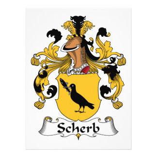 Escudo de la familia de Scherb Comunicado