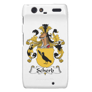 Escudo de la familia de Scherb Droid RAZR Fundas