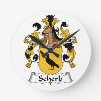 Escudo de la familia de Scherb Relojes