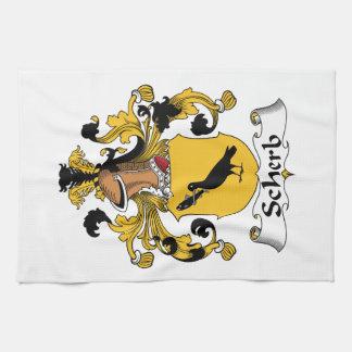 Escudo de la familia de Scherb Toalla