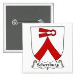 Escudo de la familia de Scherzburg Pin