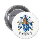 Escudo de la familia de Schick Pin