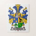 Escudo de la familia de Schirach Puzzles