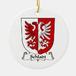 Escudo de la familia de Schladt Ornamento Para Reyes Magos