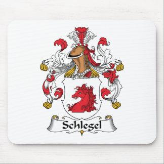 Escudo de la familia de Schlegel Alfombrillas De Ratones