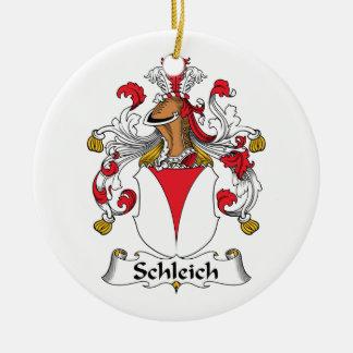Escudo de la familia de Schleich Adorno Redondo De Cerámica