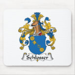 Escudo de la familia de Schlosser Tapete De Raton