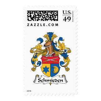 Escudo de la familia de Schmieden Franqueo