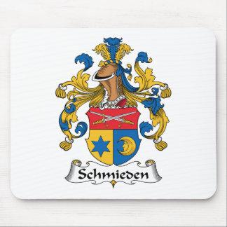 Escudo de la familia de Schmieden Tapetes De Ratones