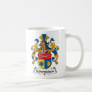 Escudo de la familia de Schmieden Taza