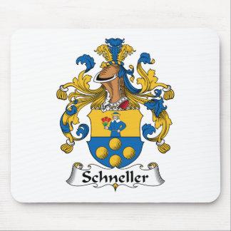Escudo de la familia de Schneller Tapetes De Ratón